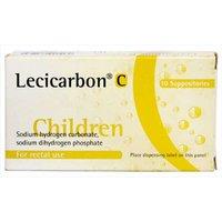 Lecicarbon C 10 Suppositories.
