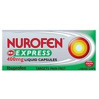 Nurofen Express Ibuprofen 400mg - 20 Liquid Capsules