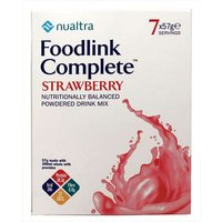 Nualtra Foodlink Complete Strawberry - 7 x 57g