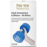 ProVen Probiotics Adult Acidophilus & bifidus - 50 Billion - 14 capsules