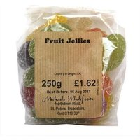 Michaels Wholefoods Fruit jellies 250g