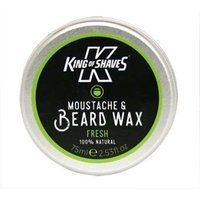 King of Shaves Fresh Moustache & Beard Wax 75ml