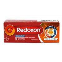 Redoxon Triple Action - 10 Orange Flavour Effervescent Tablets