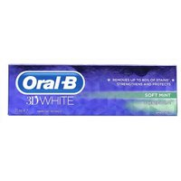 Oral-B 3D White Toothpaste Soft Mint 75ml