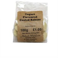 Michaels Wholefoods Yogurt Flavoured Coated Raisins - 100g