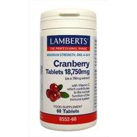 Lamberts Cranberry 18,750mg - 60 Tablets