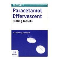 Numark Paracetamol Effervescent 500mg Tablets (24)