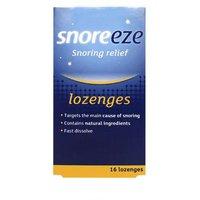 Snoreeze Snoring Relief Lozenges 16