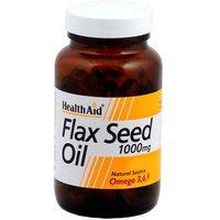 Health Aid Flax Seed Oil 1000mg 60 capsules