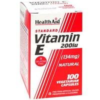 Health Aid Vitamin E 200iu 100 capsules