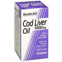 Health Aid Cod Liver Oil 1000mg 60 capsules