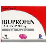 Ibuprofen 200mg 48 Tablets
