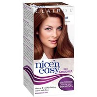 Clairol Nice n Easy Non-Permanent Hair Colour Up To 24 Washes Hair Colour 81 Mahogany