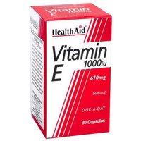 Health Aid Vitamin E 1000iu 60 capsules
