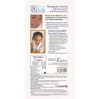 Derma Silk Therapeutic Child Gloves 3-4years