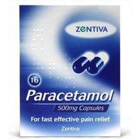 Paracetamol 500mg 16 Capsules