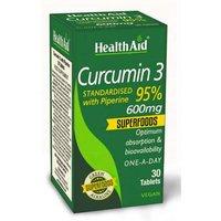 Health Aid Curcumin 3 600mg 30 Tablets