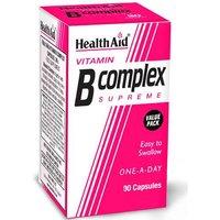 Health Aid Vitmain B Complex Supreme 90 Capsules
