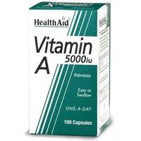 Health Aid Vitamin A 5000iu 100 Capsules