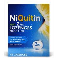 NiQuitin Mint Nicotine Lozenges 2mg 72