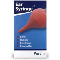 Portia Rubber Ear Syringe