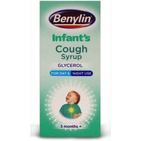 Benylin Infants Cough Syrup Glycerol for Day & Night 3 Months+ 125ml