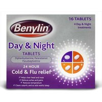 Benylin Day & Night Tablets 16