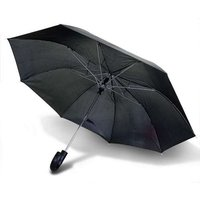 Drizzles Gents Auto-Folding Black Umbrella
