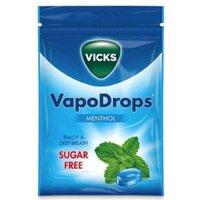 Vicks VapoDrops Menthol Sugar Free