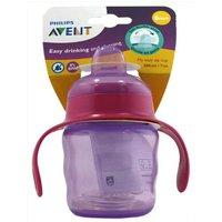 Avent Easy Sip Cup Purple/Pink 6m+