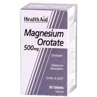 HealthAid Magnesium Orotate 500mg 30 Capsules