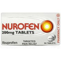 Nurofen Ibuprofen Targeted Pain Relief 96 Tablets