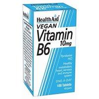 HealthAid Vitamin B6 10mg Tablets 100