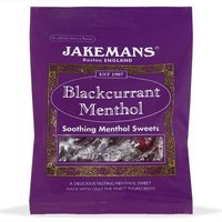 Jakemans Blackcurrant Menthol Sweets 100g