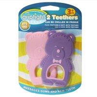 Griptight 2 Teethers - Purple & Pink