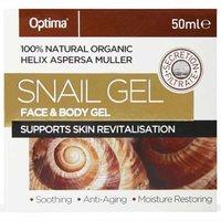 Optima Snail Face & Body Gel 50ml