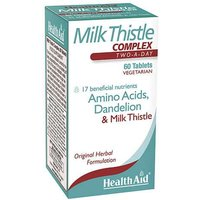 Health Aid Milk Thistle Complex 60 Tablets