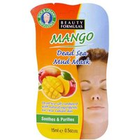 'Beauty Formulas Mango Dead Sea Mud Mask 15ml
