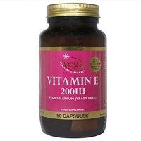 Vega Vitamin E 200IU 60 Capsules