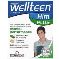 Image of Vitabiotics Wellteen Him Plus 13-19 years 56 tablets