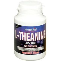 Health Aid L-Theanine 200mg 60 Tablets