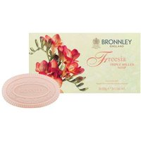 Bronnley Freesia Triple Milled Soap 3x100g
