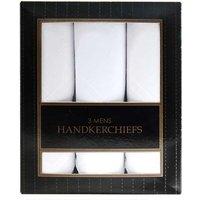 Mens handkerchiefs x 3