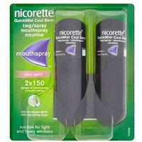Nicorette QuickMist Cool Berry 1mg/ Spray x2