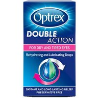 Image of Optrex Double Action Eye Drops 10ml