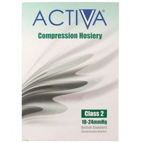 Activa Class 2 Unisex Socks Black - Small