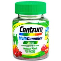 Centrum Multigummies Cherry, Berry and Orange Flavour 30