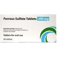 Sun Pharma Ferrous Sulfate Tablets 200mg 28