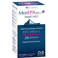MorEPAmini Smart Fats Omega-3 Softgels plus vit D3 60