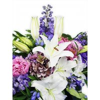 Flowers Posy Teardrop